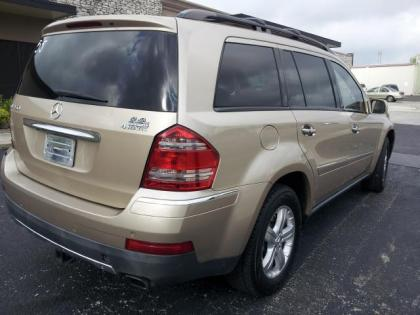 2007 MERCEDES BENZ GL450 4MATIC - GOLD ON BEIGE 3