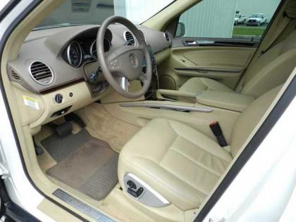 2007 MERCEDES BENZ GL450 4MATIC - WHITE ON BEIGE 4