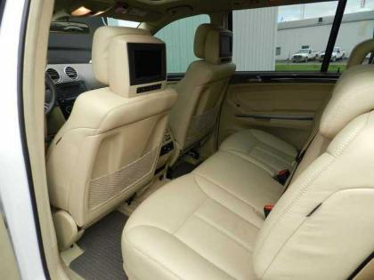 2007 MERCEDES BENZ GL450 4MATIC - WHITE ON BEIGE 5