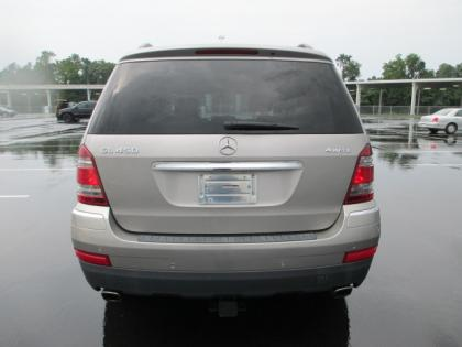 2007 MERCEDES BENZ GL450 4MATIC - GRAY ON GRAY 3