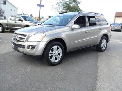 2007 MERCEDES BENZ GL450 4MATIC - GRAY ON BLACK