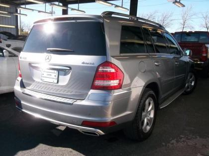 2011 MERCEDES BENZ GL450 4MATIC - GRAY ON BLACK 2