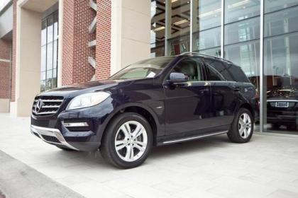 2012 MERCEDES BENZ ML350 W4 - BLUE ON BEIGE