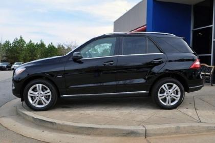 Export Used 2012 Mercedes Benz Ml350 W4 Black On Beige