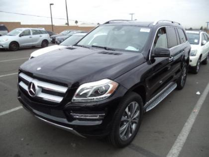2015 MERCEDES BENZ GL350 BLUTEC - BLACK ON BEIGE