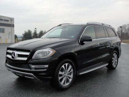 2014 MERCEDES BENZ GL350 BLUTEC - BLACK ON BLACK