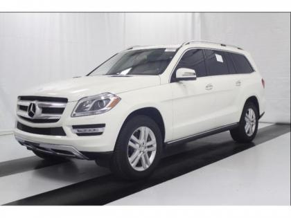 2013 MERCEDES BENZ GL450 4MATIC - WHITE ON BEIGE