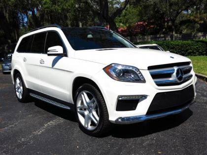 2013 MERCEDES BENZ GL550 4MATIC - WHITE ON BLACK
