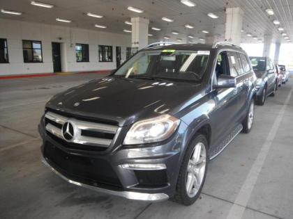 2013 MERCEDES BENZ GL550 4MATIC - GRAY ON BLACK