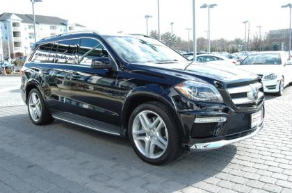 2013 MERCEDES BENZ GL550 4MATIC - BLACK ON BROWN