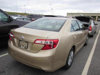 2012 TOYOTA CAMRY LE - GOLD ON GRAY 2