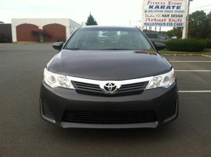 2012 TOYOTA CAMRY LE - GRAY ON BLACK 1