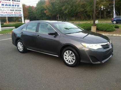 2012 TOYOTA CAMRY LE - GRAY ON BLACK 2