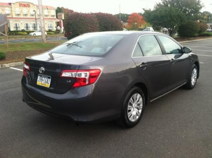 2012 TOYOTA CAMRY LE - GRAY ON BLACK 3