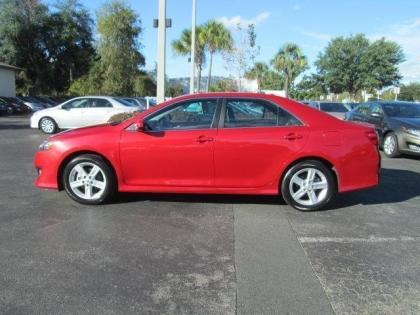 2014 Camry Se For Sale >> Export Used 2013 TOYOTA CAMRY SE - RED ON BLACK