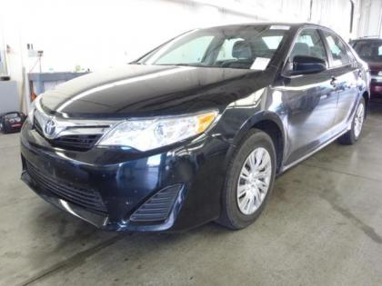 2012 TOYOTA CAMRY LE - BLUE ON GRAY