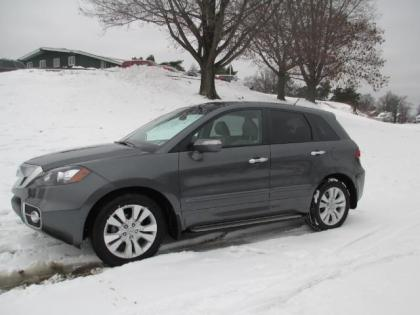 2012 ACURA RDX SH-AWD - GRAY ON GRAY