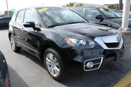 2011 ACURA RDX TECHNOLOGY PACKAGE - BLACK ON GRAY