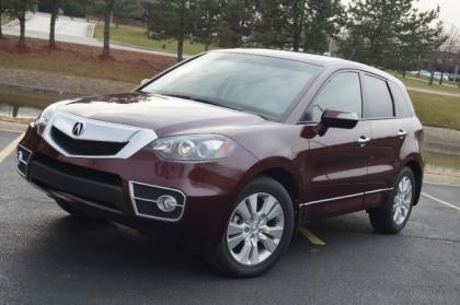 2011 ACURA RDX TECHNOLOGY PACKAGE - MAROON ON GRAY