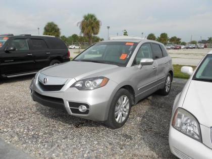 2011 ACURA RDX BASE - SILVER ON TAN