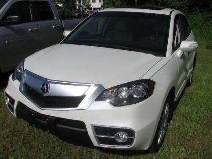 2011 ACURA RDX BASE - WHITE ON BEIGE