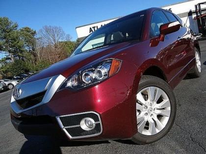 2012 ACURA RDX TECHNOLOGY PACKAGE - MAROON ON GRAY