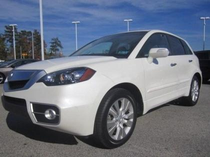 2010 ACURA RDX TECHNOLOGY PACKAGE - WHITE ON GRAY
