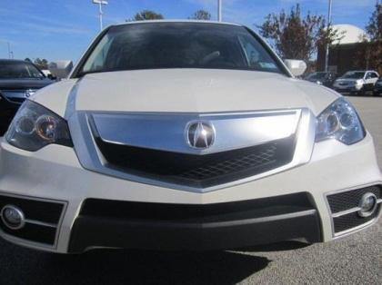 2010 ACURA RDX TECHNOLOGY PACKAGE - WHITE ON GRAY 2