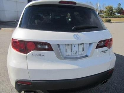 2010 ACURA RDX TECHNOLOGY PACKAGE - WHITE ON GRAY 3
