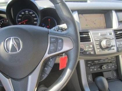 2010 ACURA RDX TECHNOLOGY PACKAGE - WHITE ON GRAY 4