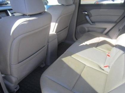 2010 ACURA RDX TECHNOLOGY PACKAGE - WHITE ON GRAY 5