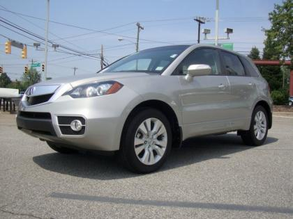 2011 ACURA RDX TECHNOLOGY PACKAGE - SILVER ON BLACK