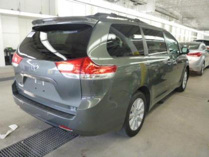 2013 TOYOTA SIENNA LIMITED - GREEN ON BEIGE 2