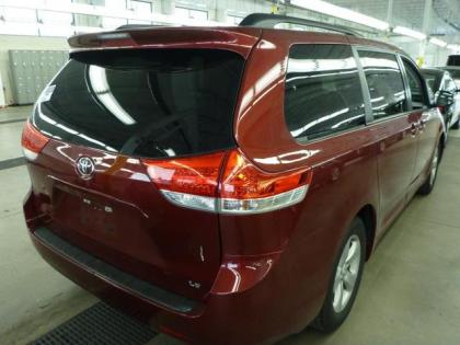 2013 TOYOTA SIENNA LE - RED ON GRAY 2