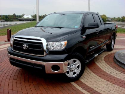 2010 TOYOTA TUNDRA 4WD - BLACK ON GRAY