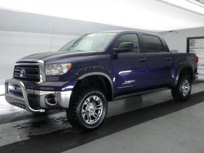 2013 TOYOTA TUNDRA BASE - BLUE ON GRAY