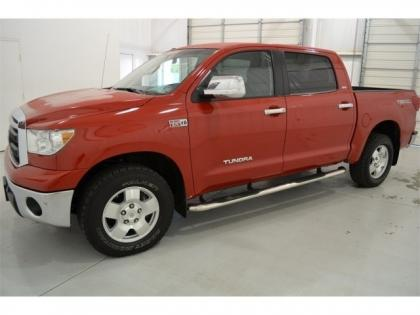 Export Used 2010 Toyota Tundra 4wd Red On Gray