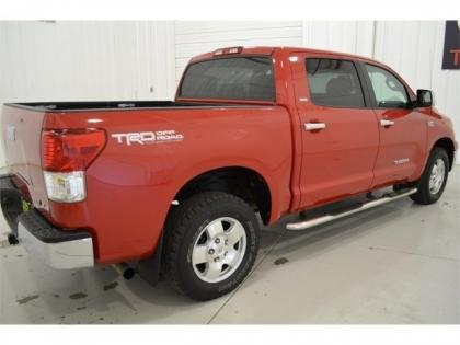 2010 TOYOTA TUNDRA 4WD - RED ON GRAY 2