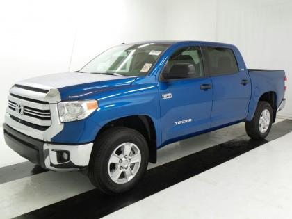 2017 TOYOTA TUNDRA SR5 - BLUE ON BLACK