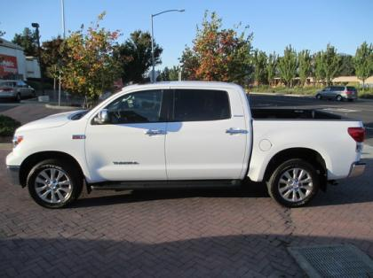 2013 TOYOTA TUNDRA PLATINUM - WHITE ON BLACK 2