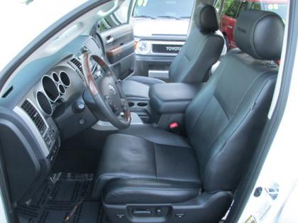 2013 TOYOTA TUNDRA PLATINUM - WHITE ON BLACK 5