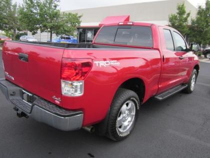 2012 TOYOTA TUNDRA 4WD - RED ON BLACK 2