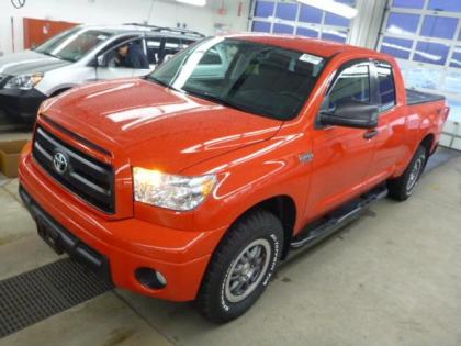 2013 TOYOTA TUNDRA BASE - RED ON BLACK
