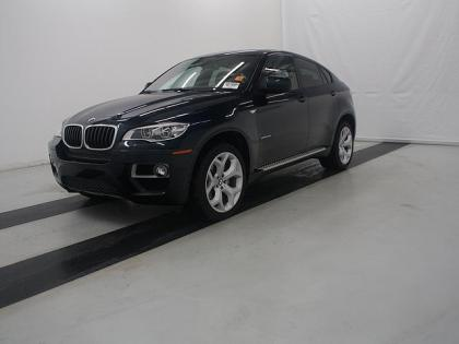 Export Used 2014 Bmw X6 Xdrive35i Blue On Orange