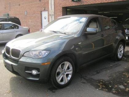 2012 BMW X6 XDRIVE35I - GREEN ON GRAY
