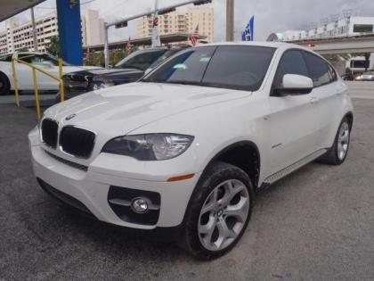2011 BMW X6 XDRIVE35I - WHITE ON RED 1