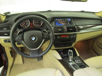 2014 BMW X6 XDRIVE50I - MAROON ON TAN 4
