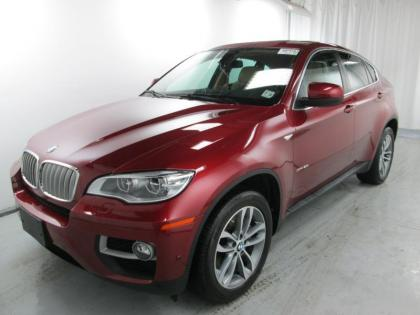2014 BMW X6 XDRIVE50I - MAROON ON TAN 8