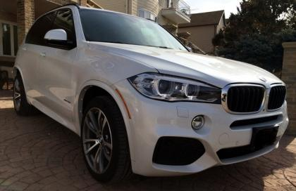 2014 BMW X5 XDRIVE35I - WHITE ON BLACK