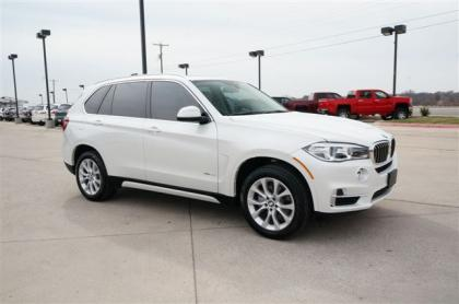 2014 BMW X5 XDRIVE35I - WHITE ON BEIGE